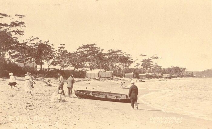 Ettalong Beach,on the central coast of New South Wales (year unknown).A♥W