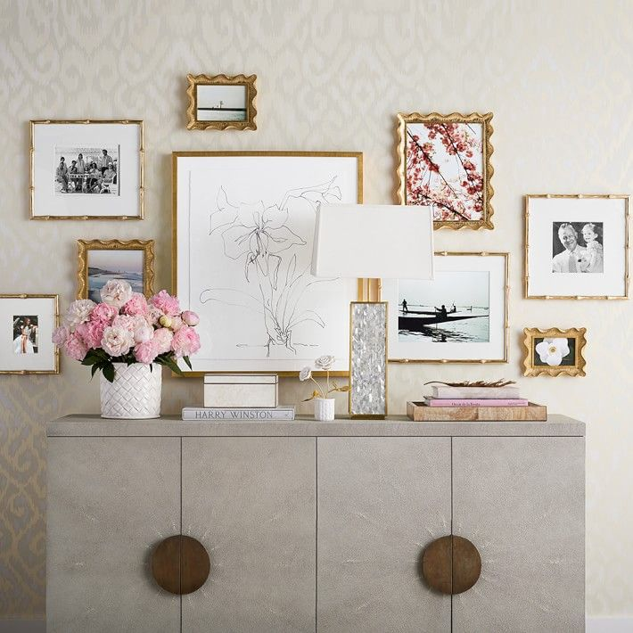 Best 25 gallery frames ideas on pinterest gold picture for Palm beach home collection