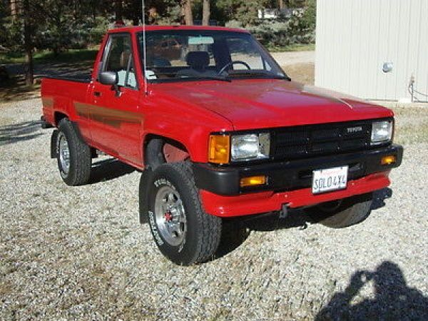 toyota other short bed 4x4 sr5 1986 toyota truck pickup. Black Bedroom Furniture Sets. Home Design Ideas