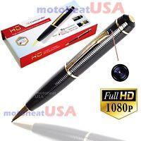 REAL 1080p FULL HD Spy REC PEN USB Cam Nanny Video/Voice Hidden Recorder Camera