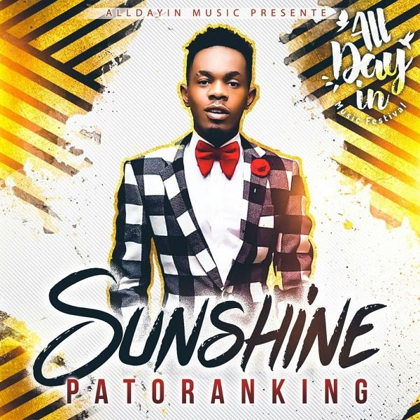 Free Mp3 Download: Sunshine – by Patoranking
