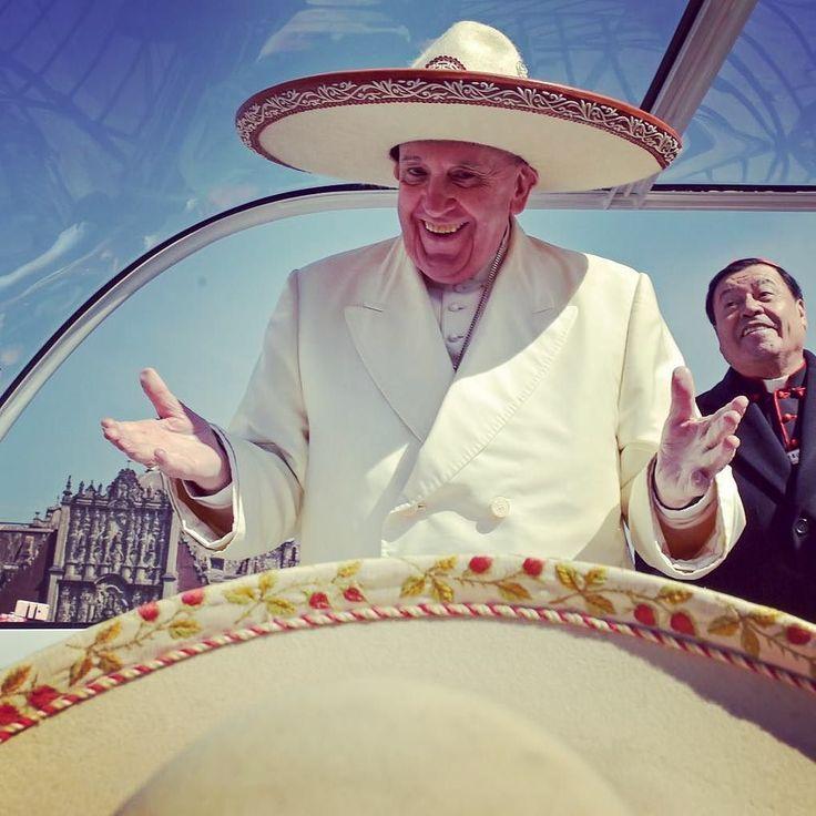papa-francis:  Feb 13, 2016 - Pope Francis presided Holy Mass at Guadalupe.  #PopeFrancis #PapaFrancesco #PapaFrancisco #PapstFranziskus #PapeFrancois #ПапаФранциск #PapaFranciscus #PapiezFranciszek #Franciskus #Påve #PapaBergoglio #PapaFrancesc #PausFranciscus #교황프란치스코 #PausFransiskus #Vatican #Catholic #Jesuit #JubileeofMercy by popereport at PapaFrancis.net