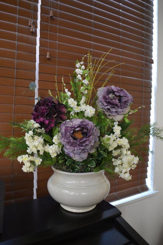 150 best chicago silk florist images on pinterest beautiful floral arrangements formal arrangement purple elegance peony silk floral by chicagosilkflorist on etsy mightylinksfo