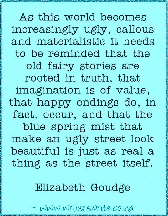 Quotable – Elizabeth Goudge – Writers Write