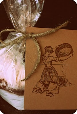 the woodside kitchen: Fudgy Brownie Gift Bag