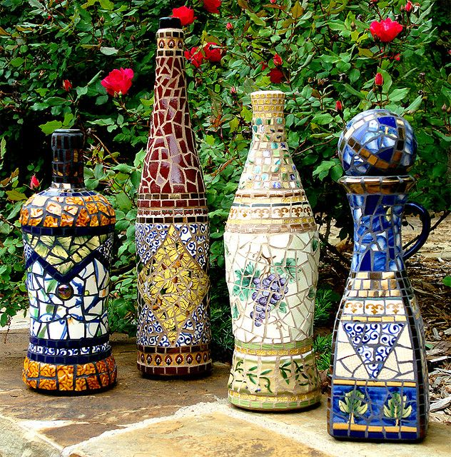 Pique Assiette Bottle Collection by Jacqueline Iskander, via Flickr