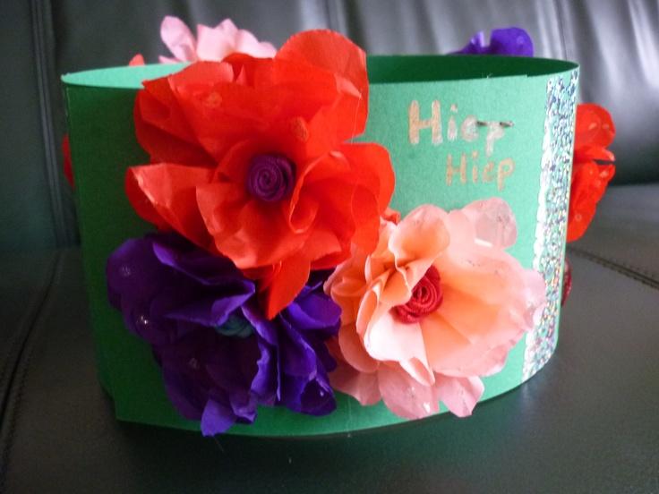 hoed bloemen