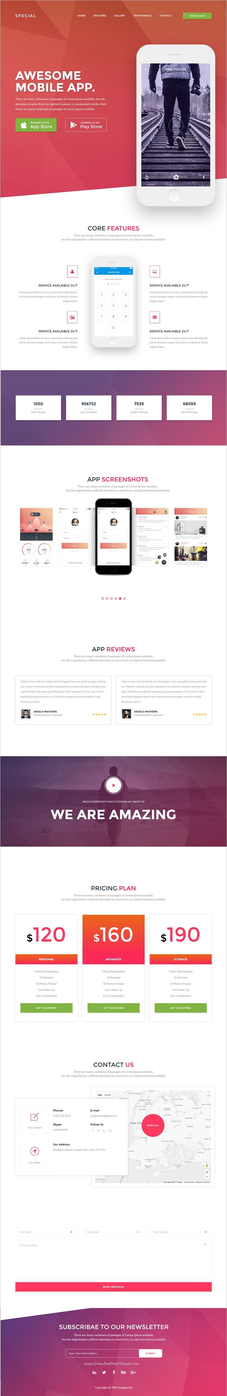 Special is a wonderful responsive #HTML Bootstrap template for awesome #app #landing page website with 28+ homepage layouts and 500 elements download now➩ https://themeforest.net/item/special-multipurpose-html-template-with-page-builder/18490465?ref=Datasata