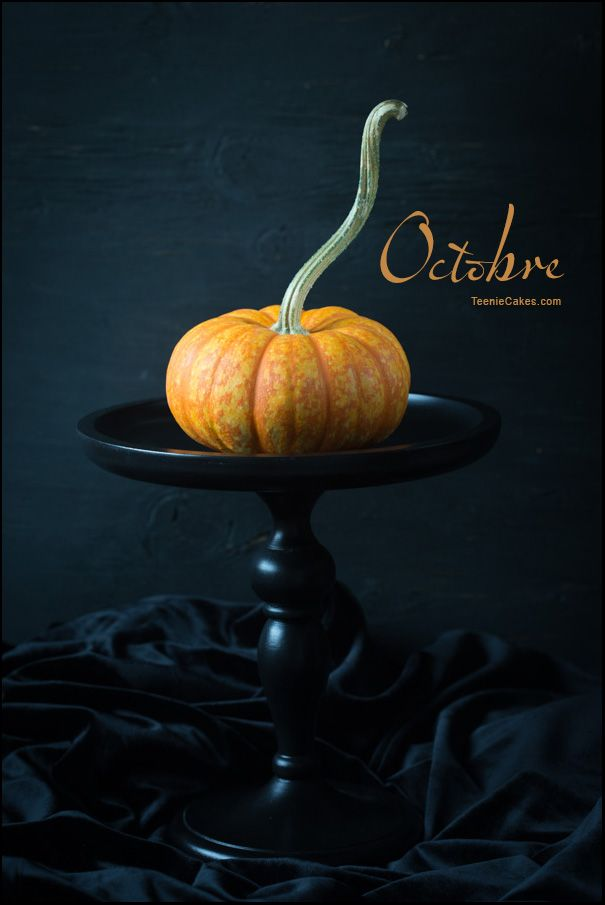 Octobre - Its the Great Pumpkin ...  (in French) | TeenieCakes.com