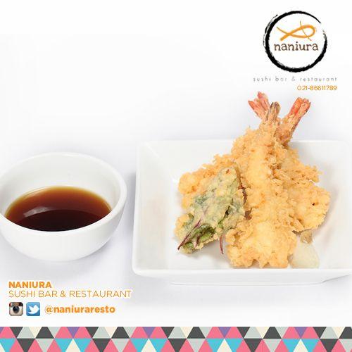 #EbiTempura Who wants more? Lets order: Naniura Sushibar Restaurant Jakarta Timur 021-86611789 || Tag ur reviews #NaniuraSushi #Sushi #FoodPorn #SushiLover #SushiResto #Ebi #Tempura #Crispy