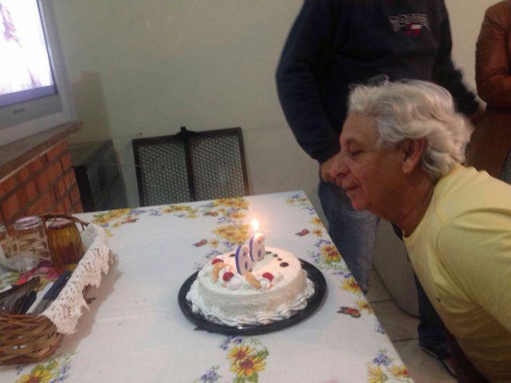 NIVER do Xeri com bolo e tudo...na casa do Acari...05.04.2016.