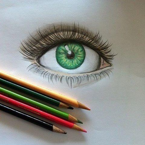 -Eye drawing-                                                                                                                                                                                 Mais