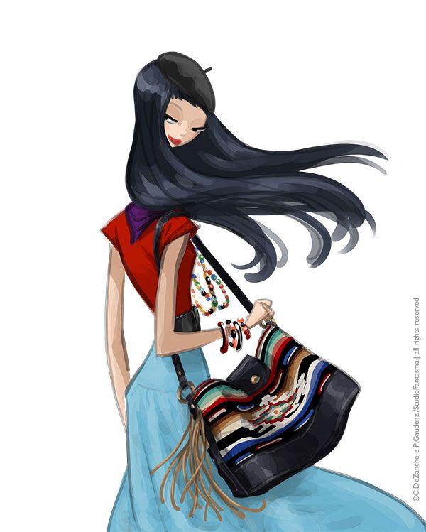 Vogue Japan 7/2013 - horoscope 2013, taurus - Ralph Lauren s/s 2013 - by studiofantasma.com