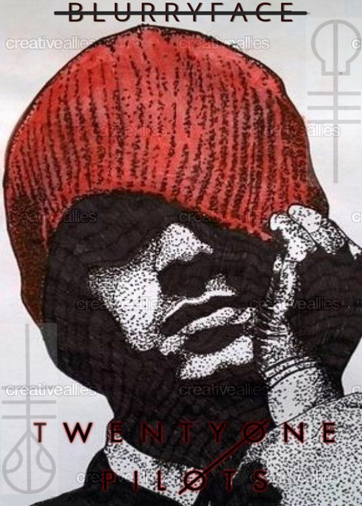 TWENTY ONE PILOTS Poster by McKennaSmith on CreativeAllies.com  Vote for this!  Isn't it amazing?  I want her to do one of Josh.