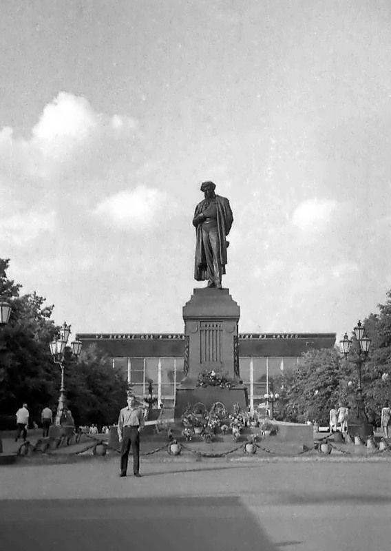 Пушкинская площадь, 1973 г.