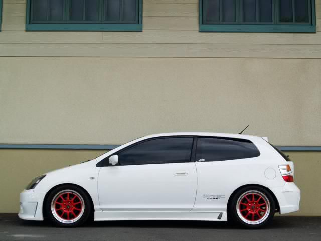 Honda Civic SI Hatchback 2004 -> one of my favorite hatchback car