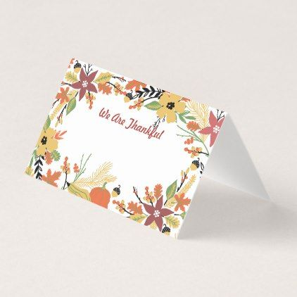 #Happy Thanksgiving Table Seating and Greeting Card - #ThanksgivingDay Thanksgiving Day #Thanksgiving #happy #family #dinners #turkey #chicken