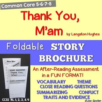 27 best short stories images on pinterest reading school and thank you mam foldable story brochure will be a sure hit with your students as fandeluxe Images