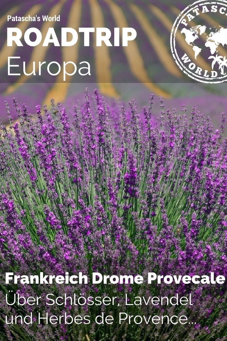 Die Drôme Provencale zählt zu einer, der wohl schönsten Regionen Frankreichs. Hier gibt es Unzähliges zu entdecken. Komm mit auf eine Reise der Sinne...