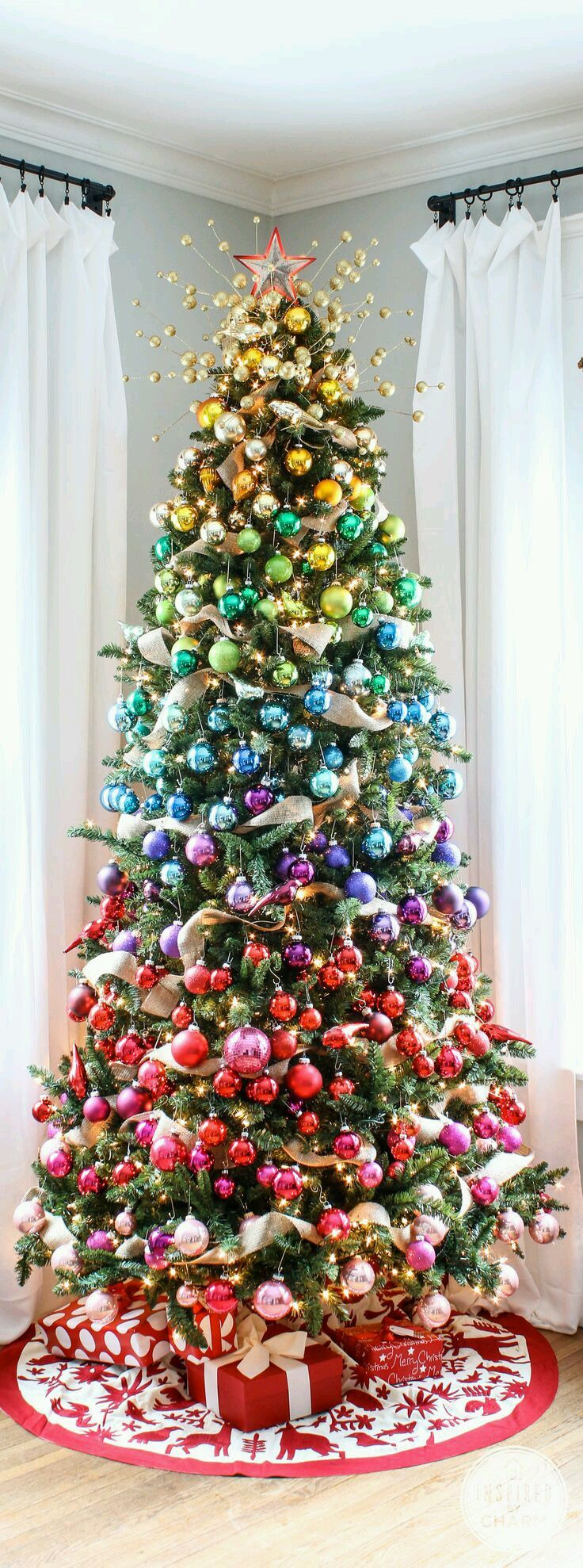 Why do we have christmas decorations on a tree - 43 Clever Over The Top Ridiculous Christmas Decor Ideas You Would Only Find On Pinterest