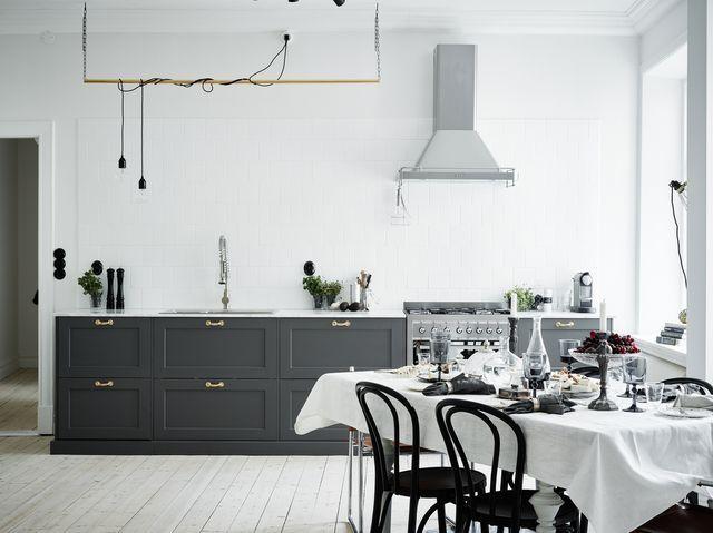 Kök kök design : 10+ images about Kök on Pinterest | Grey cabinets, Grey and ...