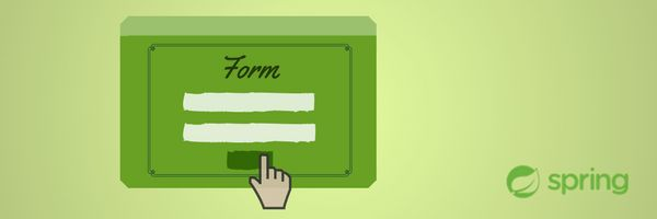 Submit a form in Spring MVC - The Global Variable