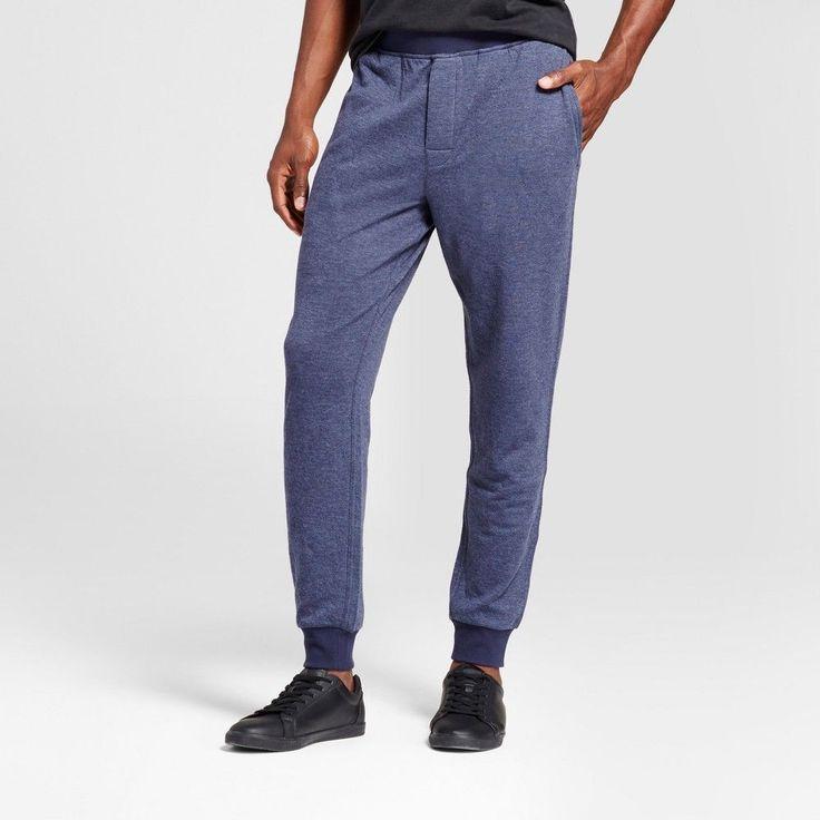 Men's Big & Tall Jogger Pajama Pants - Goodfellow & Co Navy (Blue) MT