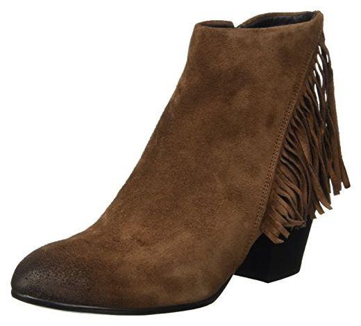 Manas Damen Livigno Desert Boots, Marrone (Cioco), 36 EU - Stiefel für frauen (*Partner-Link)