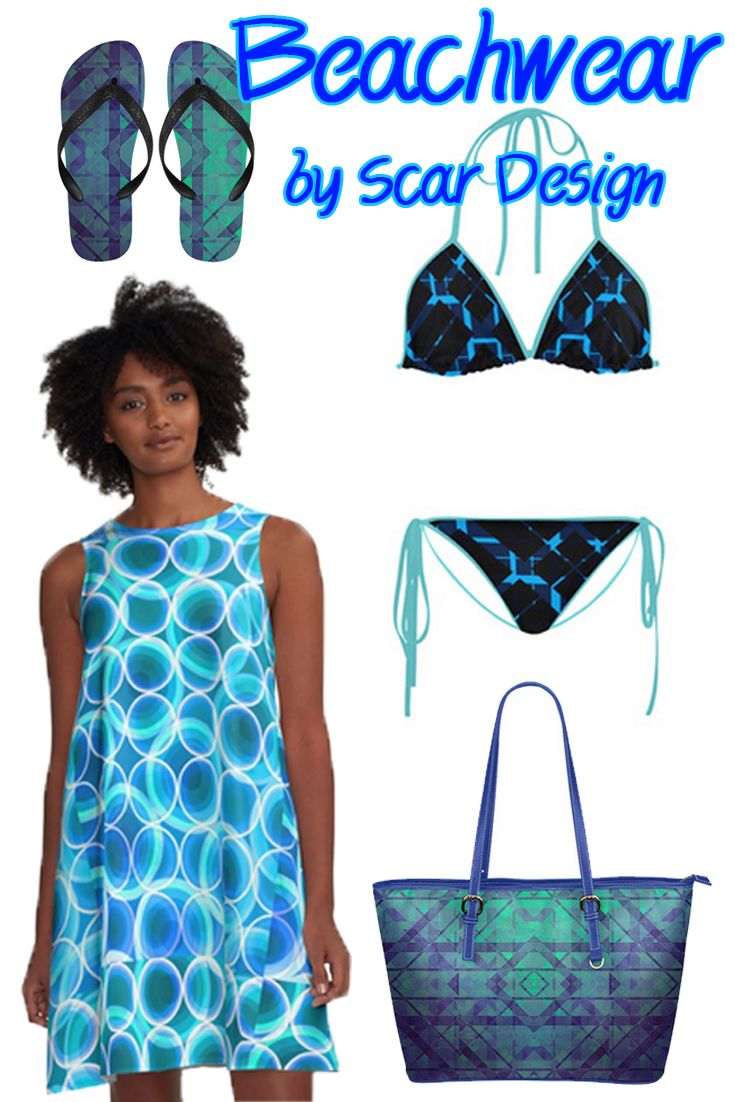 Beachwear 2017 Set by Scar Design.  http://www.artsadd.com/shop/diagonal_blue_black_plaid_modern_style_custom_bikini_swimsuit-1615478.html   #beachwear #beachwear2017 #beach #swimwear  #bikini #beachbag #dress #beachdress #summer #summer2017 #summerdress #Alinedress #flipflops #scardesign #geometric #fashion #summerfashion