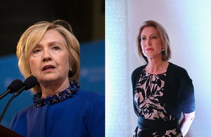 """CNN: Hillary Clinton And Carly Fiorina Are In A """"Girl Fight"""" **Eye roll**"""
