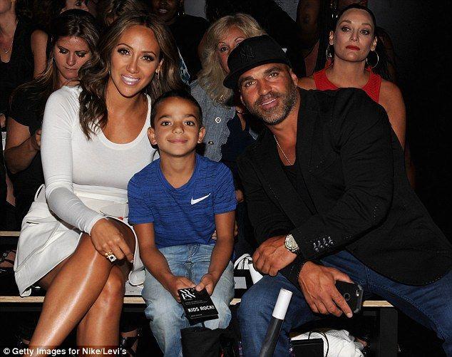 Good looking family: Real Housewives of New Jersey star Melissa Gorga husband Joe Gorga an...