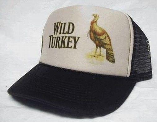d67534e2d57fd Wild Turkey Whisky Trucker Mesh Hat tan Brown