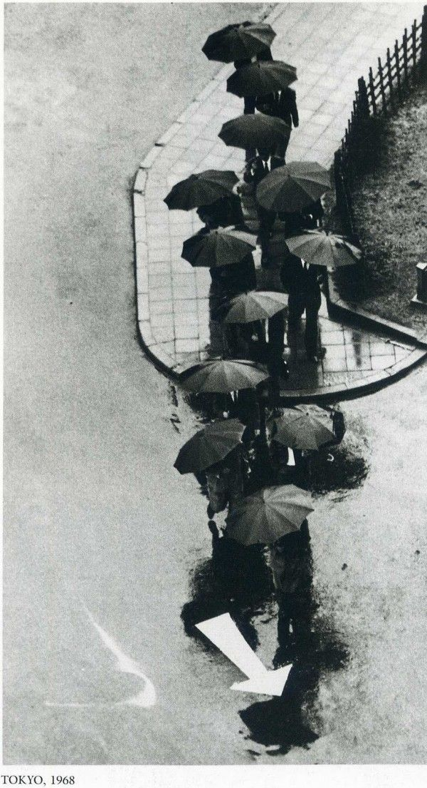 By Andre Kertesz. Tokyo, 1968