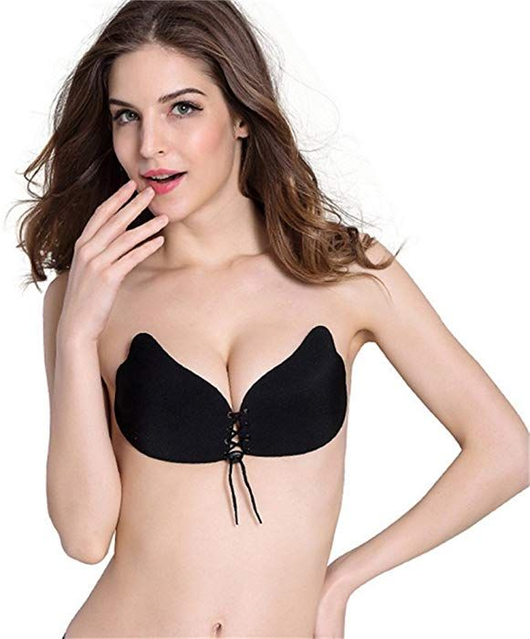 0468a109bd MEINAIER Sticky Bra For Women
