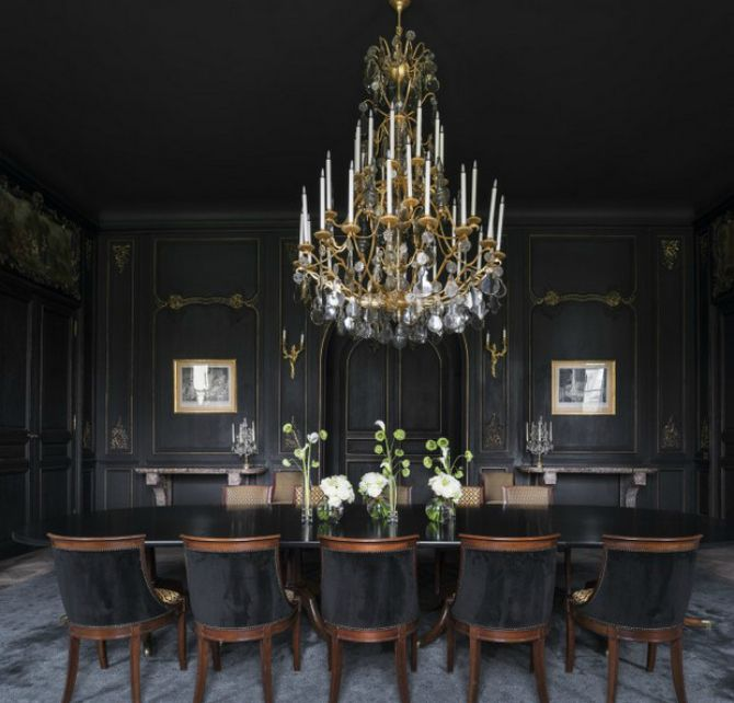 Stunning Dining Room Design Ideas by David Collins Studio #diningroomideas #diningroomdesign Find more here: http://diningroomideas.eu/stunning-dining-room-design-ideas-david-collins/
