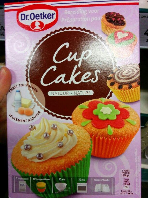 Dr oetker cupcake mix lactosevrij colruyt