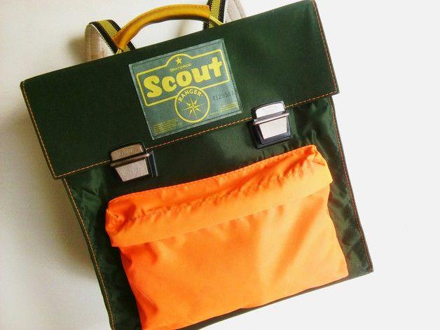 Vintage Schoolbag by Scout. Hatte genau diese hier, nur in blau (natürlich viel schöner! ;-).