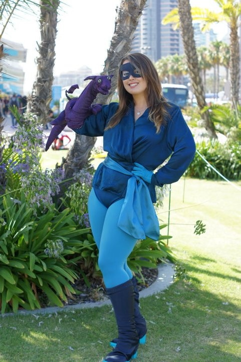 Shadowcat & Lockheed the dragon Best Cosplay Ever (This Week) - 08.20.12 - ComicsAlliance | Comic book culture, news, humor, commentary, and reviews