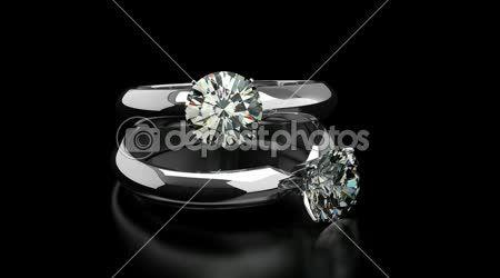 Diamantové prsteny — Stock video #27719089