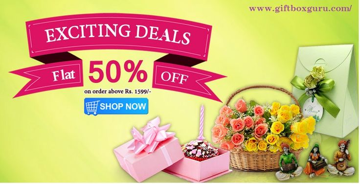 Buy Gift Online at GiftBoxGuru.com & get huge collection of unique gifts for men, women and kids. Now it is easy to select and send birthday gifts, anniversary gifts and all occasion's gift at discounted price with free shipping in India.