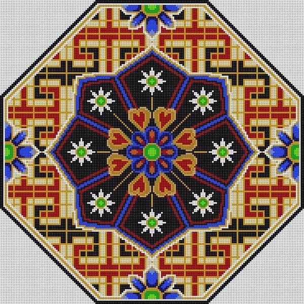 96 Best Ideas About Mandala Cross Stitch On Pinterest