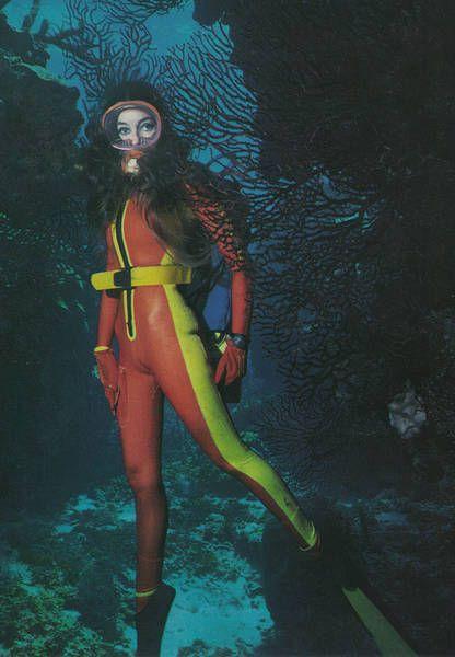 from Kameron sexy girl scuba diving