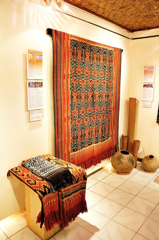 Her story: Woven patterns often tell the story of a tribe, symbolized in the fabric's shapes and motifs, such as with ...