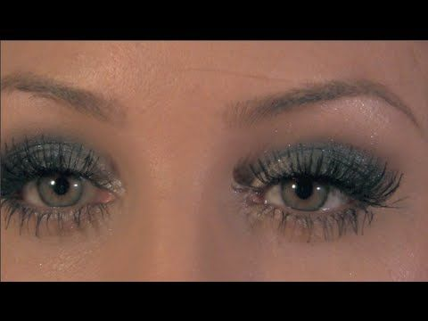 Glamour-eyes: Icy Black New Years /Holiday Makeup Tutorial