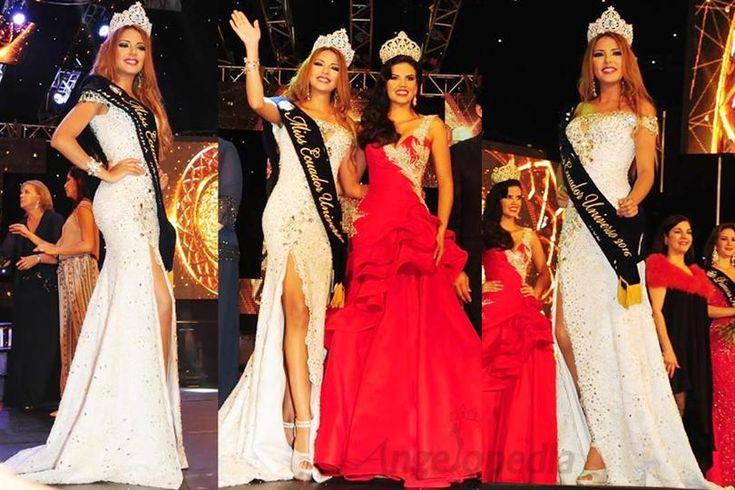 Connie Maily Jimenez Romero crowned as Miss Ecuador 2016