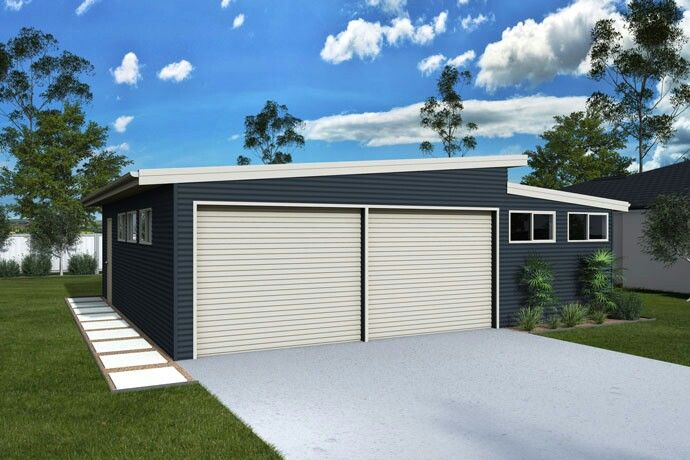 Skillion shed - RANDBUILD www.ranbuild.com.au/products/domestic