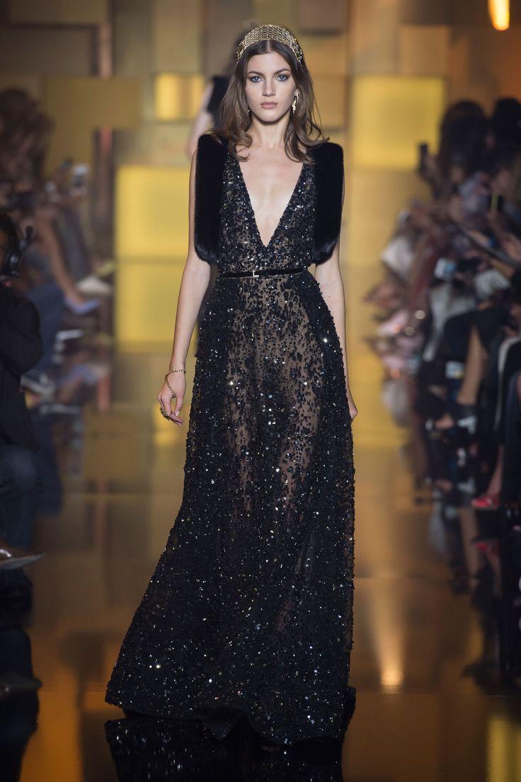 Elie Saab haute couture jesień-zima 2015/2016, fot. Imaxtree