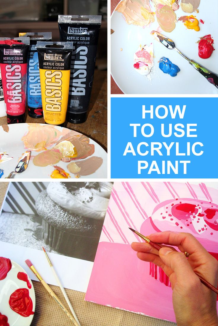From choosing colors to assembling a palette to getting to work, learn all about how to use acrylic paint. On Craftsy!