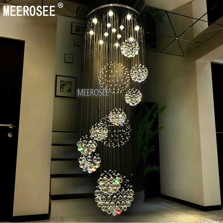 Find more chandeliers information about modern large crystal chandelier light fixture spiral lustres de cristal for