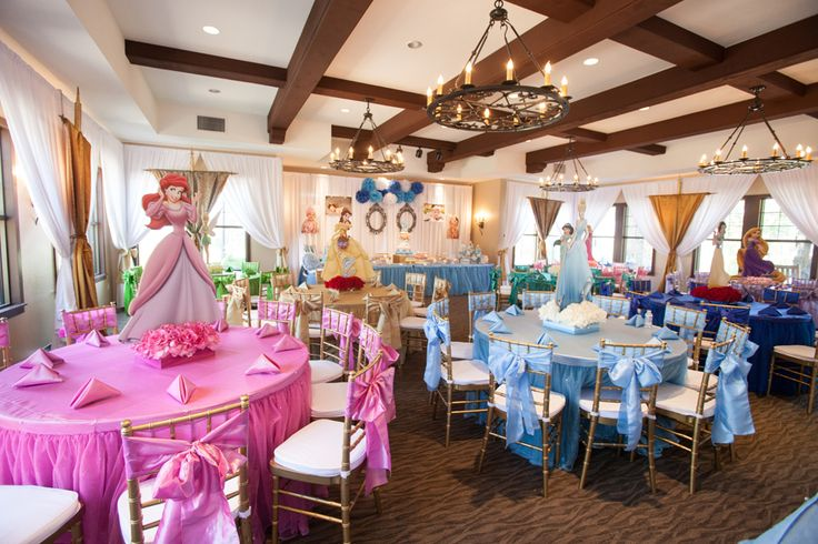 Disney Princess Birthday Party : Love it, glad Hailey is still young enough to like this: might have to do this April!!